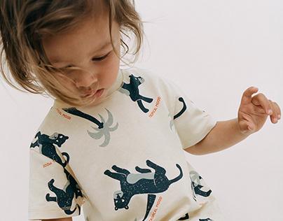 Pumas Print T-shirt   ZARA BABY BOY SS21