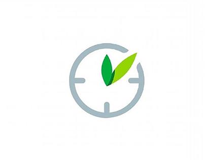Greentime logo idea design