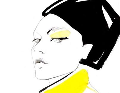 Fashion illustrations - Portraits