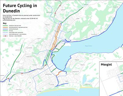 Dunedin Cycling Maps