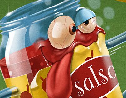 """Salsa borracha """"PalaLetras"""""""