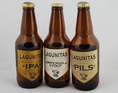 Lagunitas Label Redesign