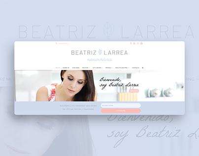 Beatriz Larrea Nutrición Holística Website