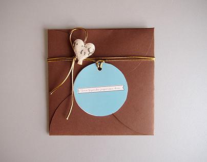 Cristina & Jorge - wedding invitation