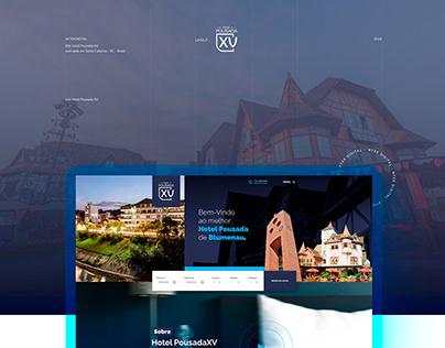 Hotel Pousada XV - Site Institucional