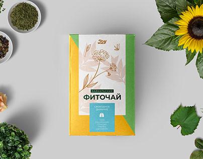 Herbal tea package