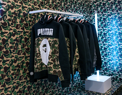 Babe x Puma Retail Pop-up