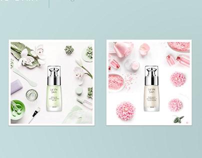STYLEBOOK for Luxury Skincare Cosmetics (social media)