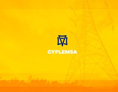 Branding -CYPLEMSA- Constructora eléctrica