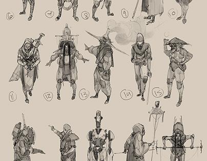 Character Design vol : 3