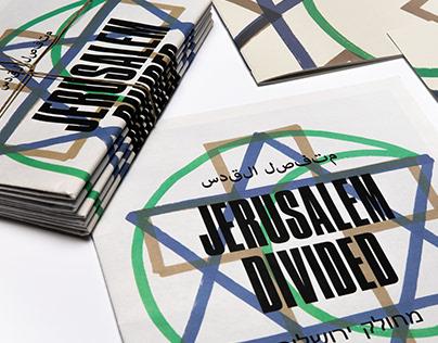[ISTD Award Winner 2019] Jerusalem Divided