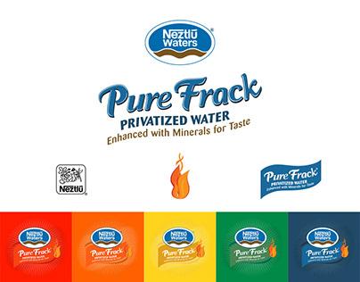 Neztlū Pure Frack Privatized Water :: Brand Campaign