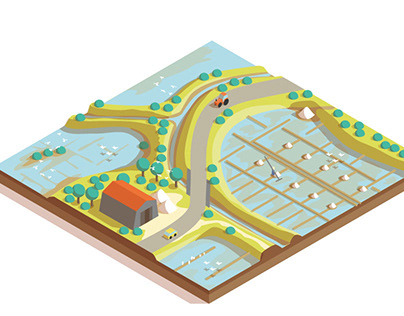 Urban planning isometry 3