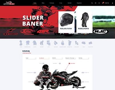 Moto Shop Webside