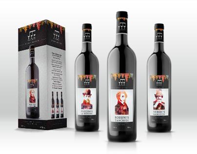 Bacchus Wine Corporate Identity