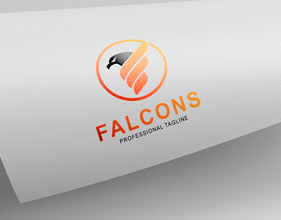Falcon Logo Design
