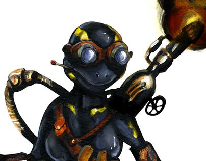 Fire Salamander Project