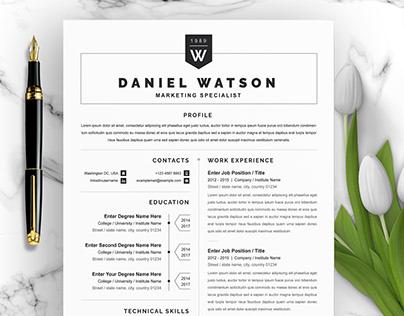 CV | Modern Resume | Resume Word