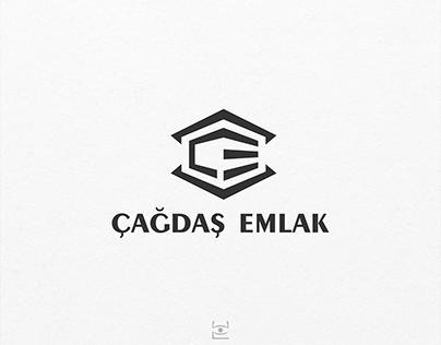 Çağdaş Emlak Logo