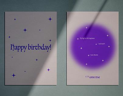 Birthday card set (2021)