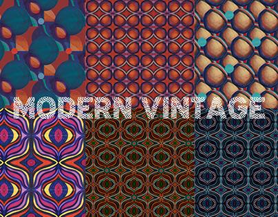 Modern Vintage Patterns for Patternbank