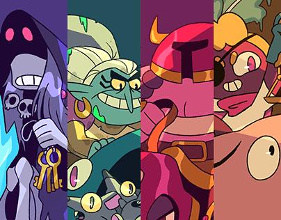 The Four Horsewomen of the Apocalypse