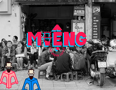 MIENG_the urban coffee visual identity