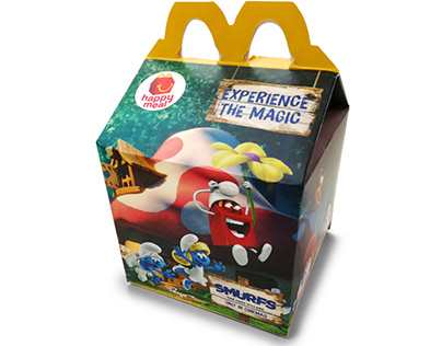 Smurfs Happy Meal Promo