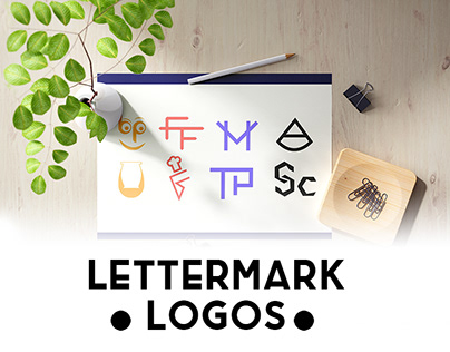 Best Lettermark logo folio Check it Now !!