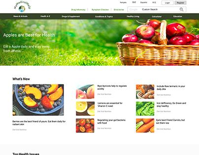 Medical Information Website