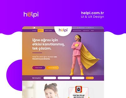 Helpi UI/UX Design