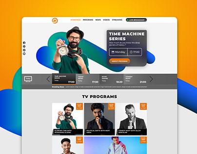 TV Channel UI & UX