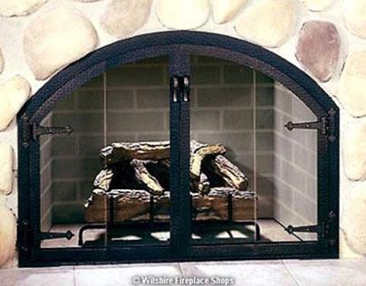 The BlackSmith Glass Door