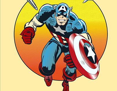 Captain America - personal ilustraition