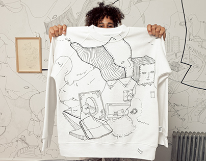 x HAND-DRAWN SWEATERS