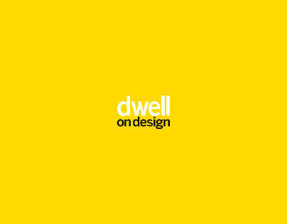 Dwell on Design 2013 Redesign