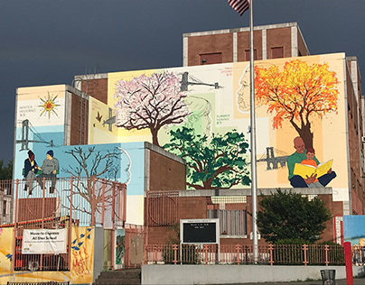 "Mural: ""Feeling All 4 Seasons, Bridging All 4 Seasons"""