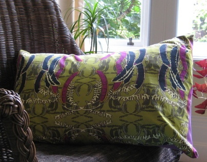 Ballistic Owl cushions