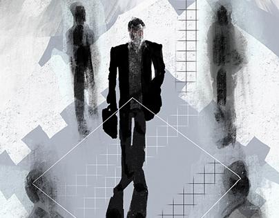 The Square Illustration
