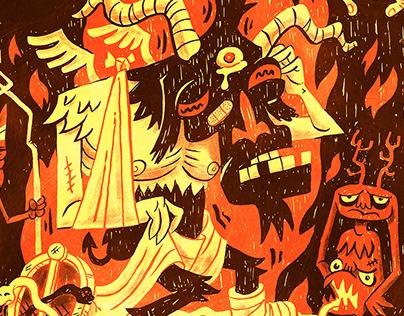 Fail Satan! Alt Weekly Cover