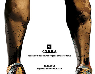 Poster for MTB Race