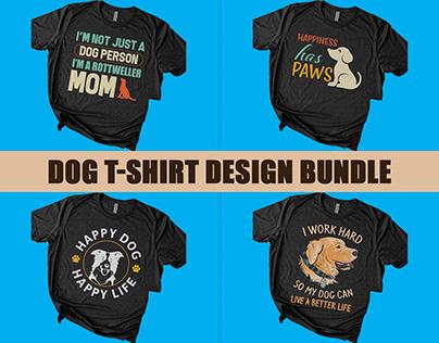 Dog T Shirt Design Bundle