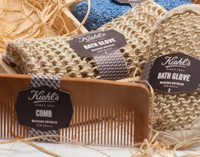 Kiehl's bath set