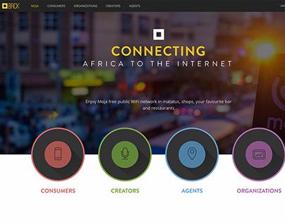 BRCK website redesign