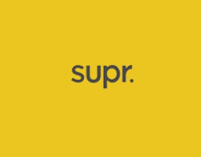 Supr Slim Wallet: Website Design