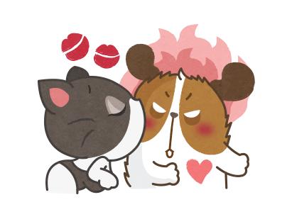 GONDRE & FRIENDS - LINE sticker