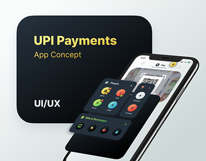 UPI Payments App Concept | UI/UX