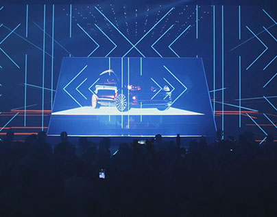 VW UP - Projection Mapping