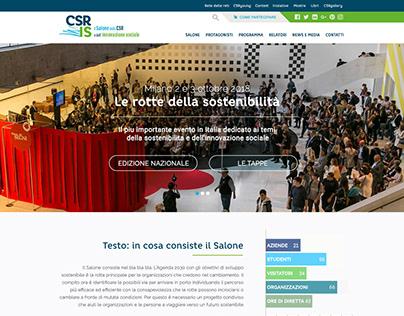 CSR E INNOVAZIONE SOCIALE website
