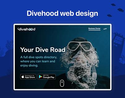 Divehood Landing Page